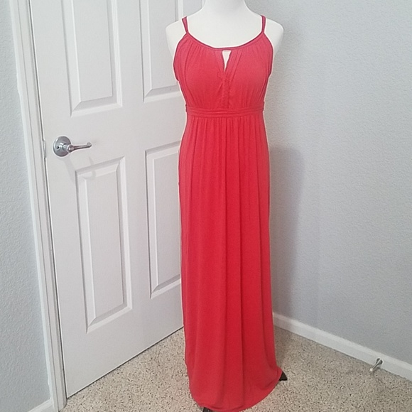 top-rated original online search for newest Max Studio candy red Maxi dress